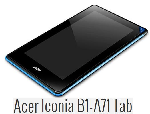 Acer Iconia B1-A71 16Gb Android 4.1Jelly Bean Internet ...