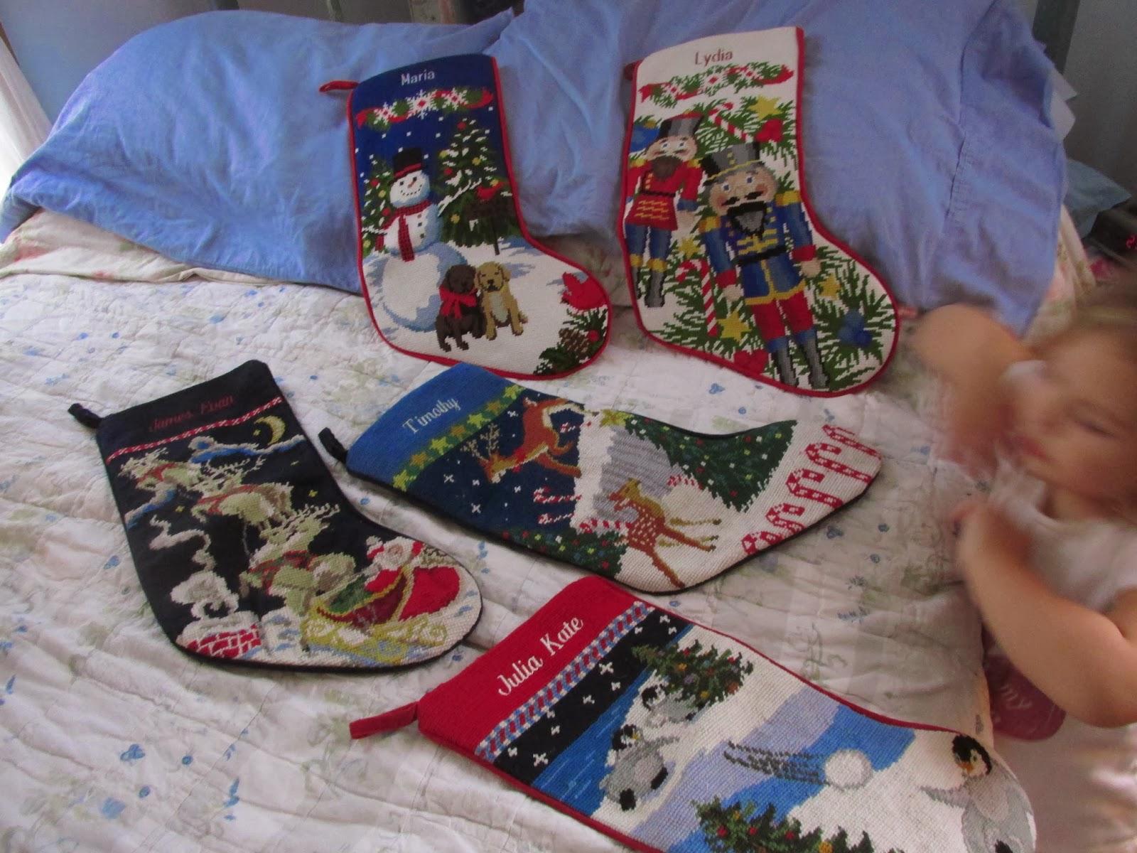 well, yeah.: christmas stockings