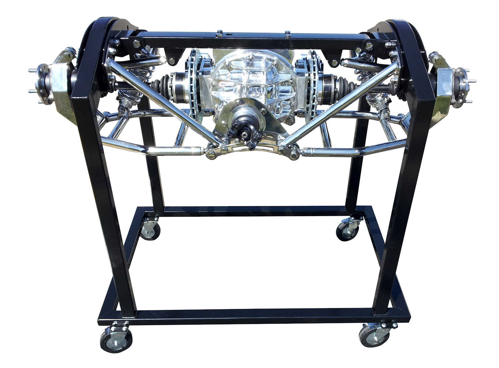school of hot rod heidts unveils new tri five pro g independent rear suspension for 1955 to. Black Bedroom Furniture Sets. Home Design Ideas