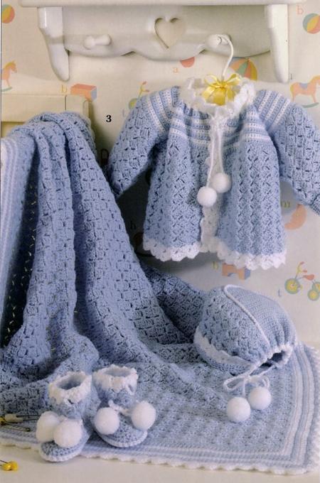 صورة ملابس من الصوف للأطفال أولاد أو بنات صغار