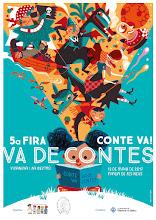 Cartell 5a Fira Conte va! va de contes 2017