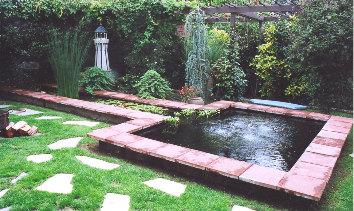 Koi pond garden landscape design for Koi pool design