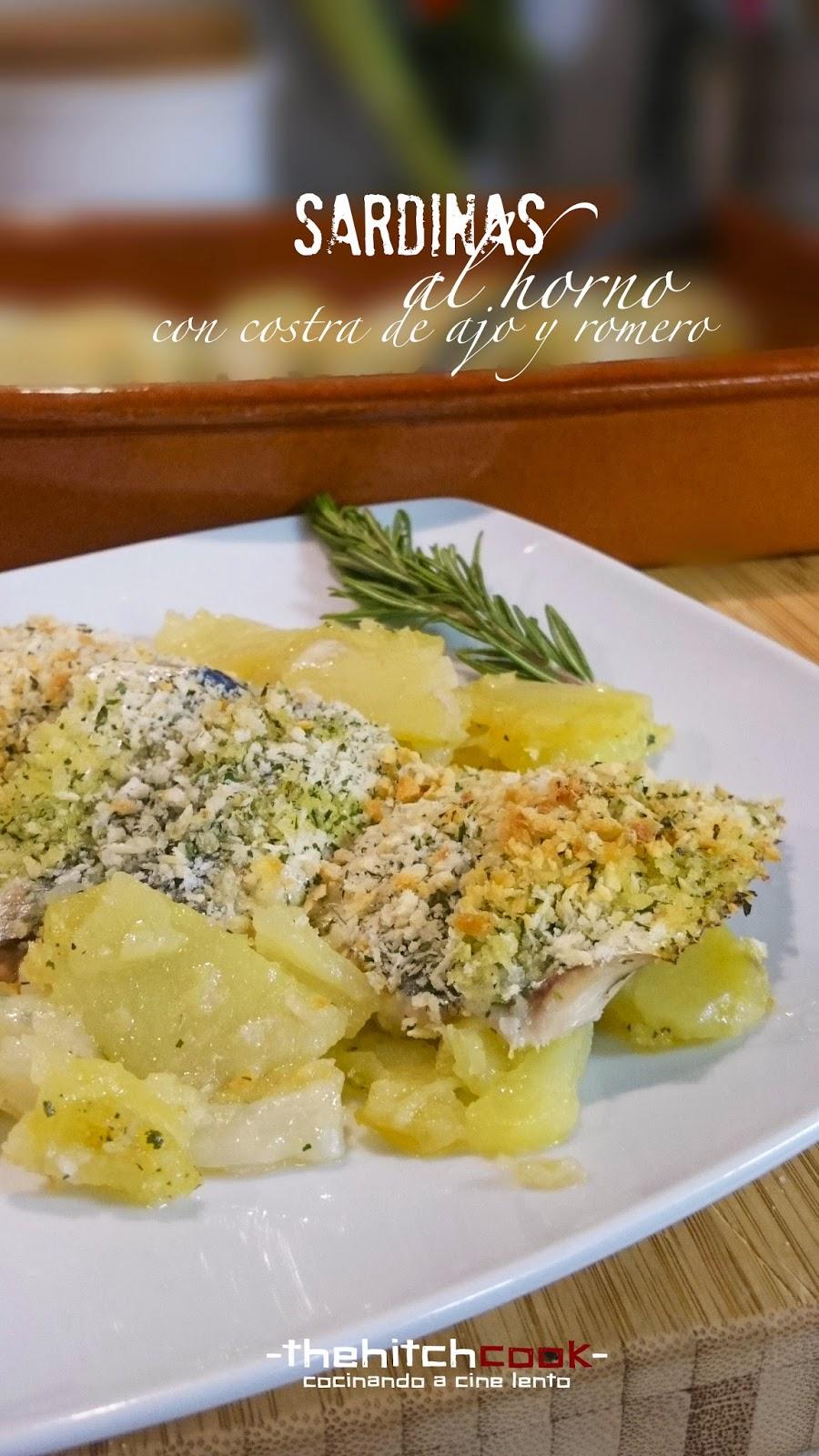 The hitchcook sardinas al horno con costra de ajo y - Como cocinar sardinas ...