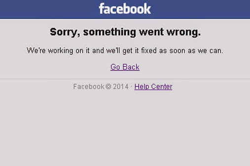 Facebook Message after getting back online
