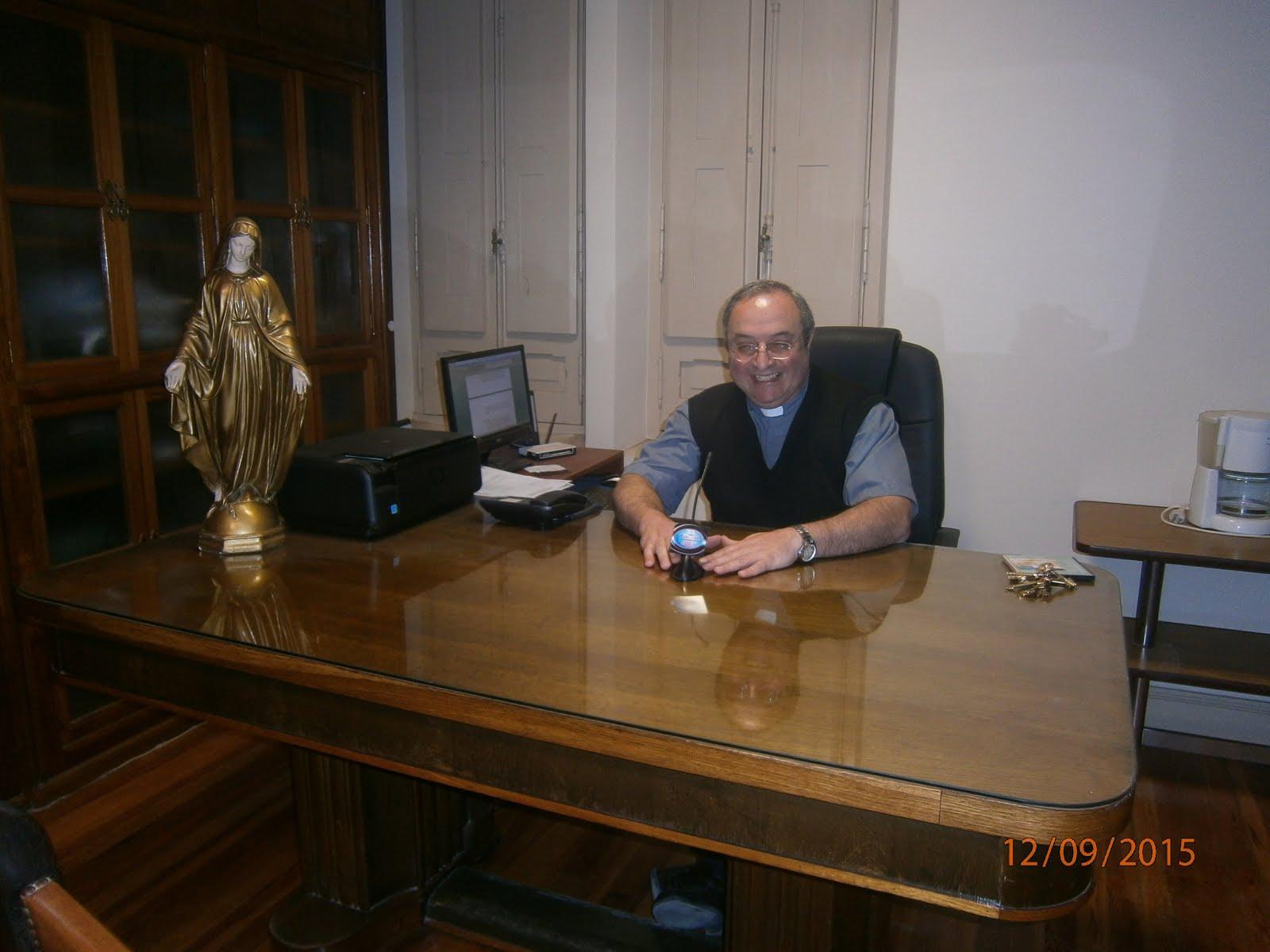 PADRE DANIEL BLANCHAUD,PARROCO DE LA BASILICA DE LUJAN