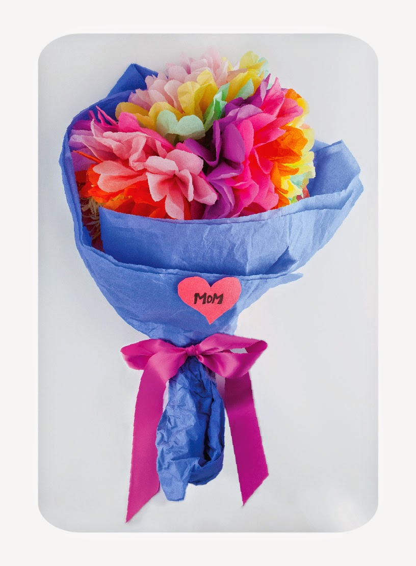 tissue paper flower bouquet 101 different ways to make paper flowers you are sure to find the perfect paper-flower craft from our list of 101 amazing diy tissue bouquet photo credit.
