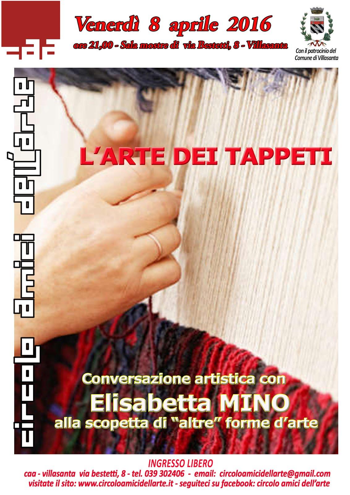 """Conferenza """"L'arte dei tappeti"""""""