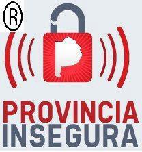 PROVINCIA INSEGURA MARCA REGISTRADA!