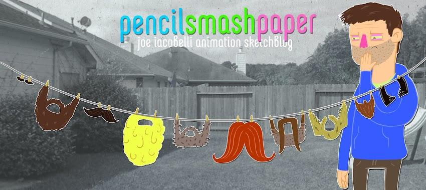 Pencil Smash Paper