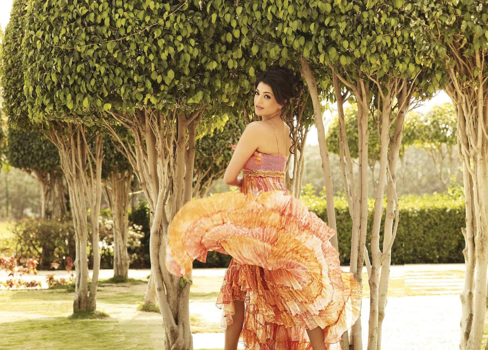 League T20 Updates: Kajal Aggarwal Photoshoot For CCL Calendar 2012 ...