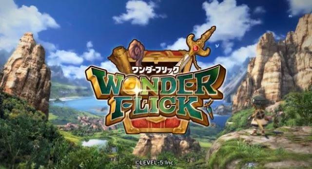 Screenshot of Wonder Flick title screen