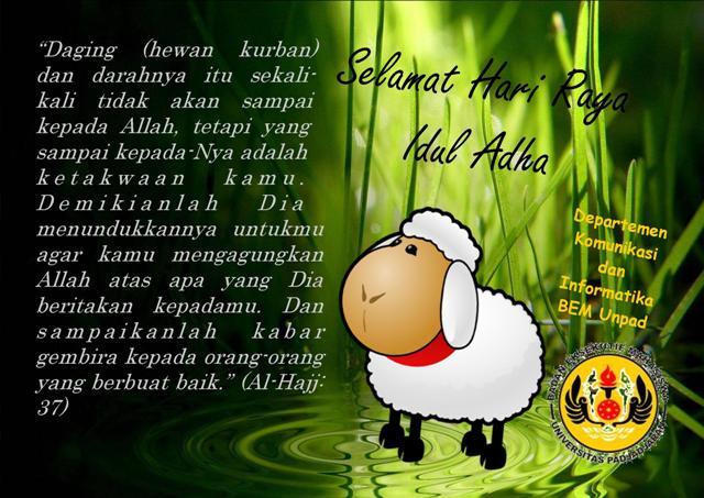Kumpulan DP BBM Tema Selamat Idul Adha Terbaru