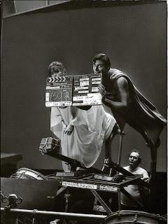 En el rodaje de Superman