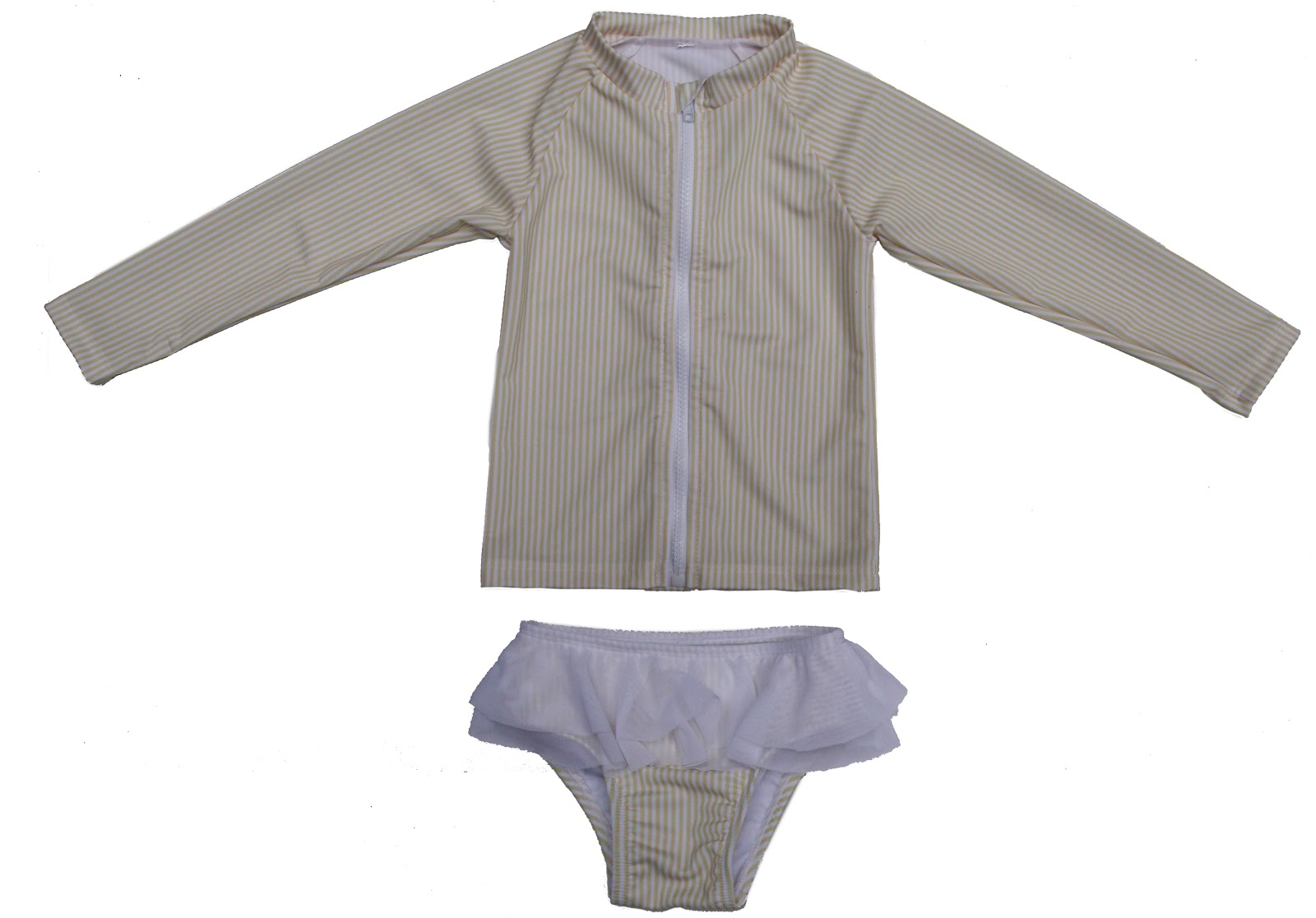 long sleeve baby girl swimsuit