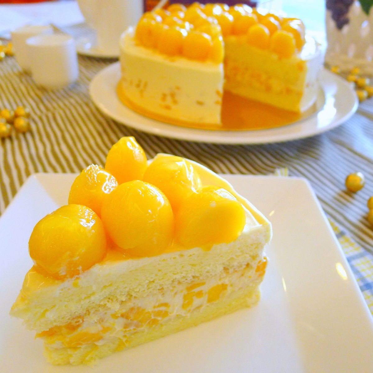 Images For Mango Cake : Mango Cake and Mango Cheesecake Recipes Musings of a ...