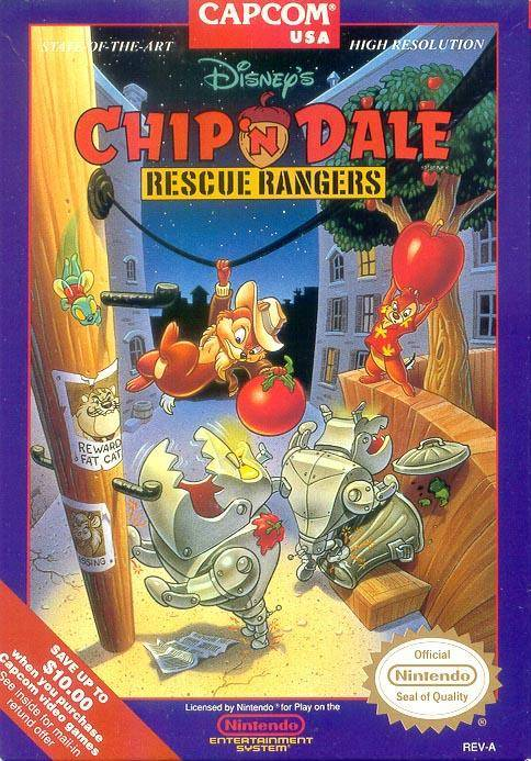 Chip and Dale: Rescue Rangers - NES