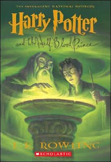 Book cover for Harry Potter and the Half-Blood Prince by J.K. Rowling