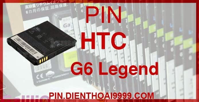 Pin điện thoại HTC-G6 - Pin Chính hãng / Pin Galilio HTC G6 dung lượng cao. - Giá 200K - Bảo hành: 6 tháng  - Pin tương thích với điện thoại HTC A315C/ A3333 / A3360 (Tianyi,TianShan)/ A3366 (Wildfire)/ A3380/ A6363 Legend/ A6388/ G6/ G7mini/ G8/ Pin HTC Incredible/ Pin HTC My Touch 3G Slide/ T5588  Thông số kĩ thuật: - Pin điện thoại HTC-G6 được thiết kế kiểu dáng và kích thước y như pin nguyên bản theo máy, Pin tiêu chuẩn, chất lượng như pin theo máy. - Kích thước: - Dung lượng: 1500 mAh - Điện thế: 3.7V - Công nghệ: Pin Li-ion Battery