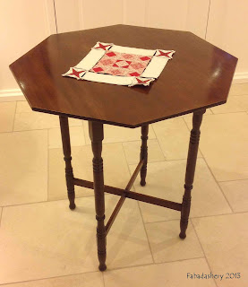'Hexi' Octagonal Wooden Table Fabadashery