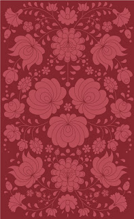 gueth rhapsody rug in marsala