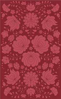 gueth rhapsody rug in marsala