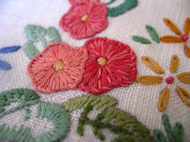 Embroidery garden for Garden embroidery designs