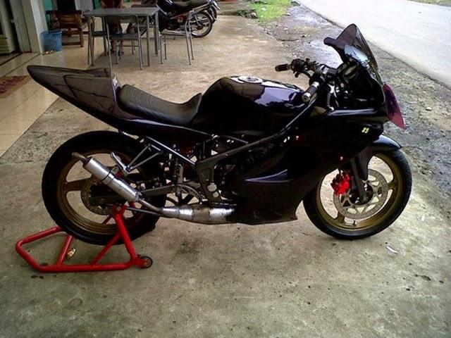 Gambar Modifikasi Kawasaki Ninja RR Terbaru
