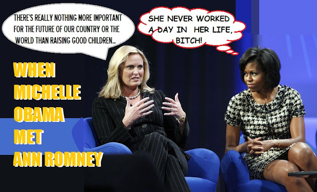 romney hands times class poise spiteful lumbering behemoth moochelle obama
