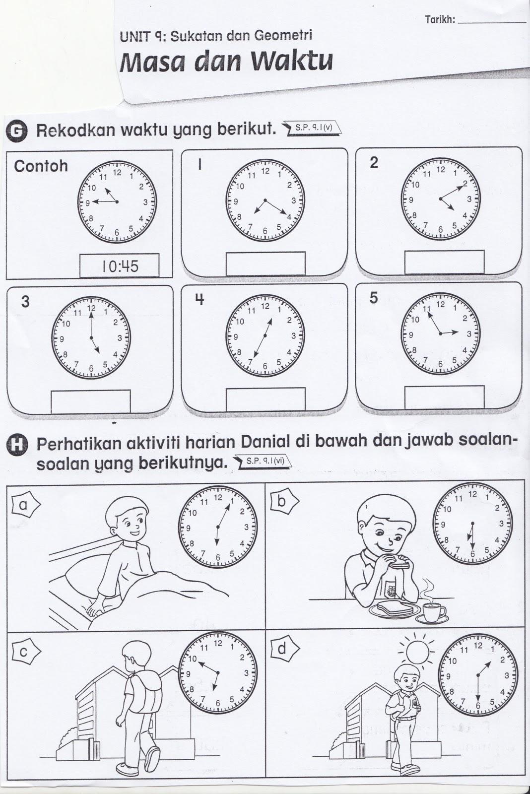 Copy Of Masa Tahun Satu Lessons Tes Teach