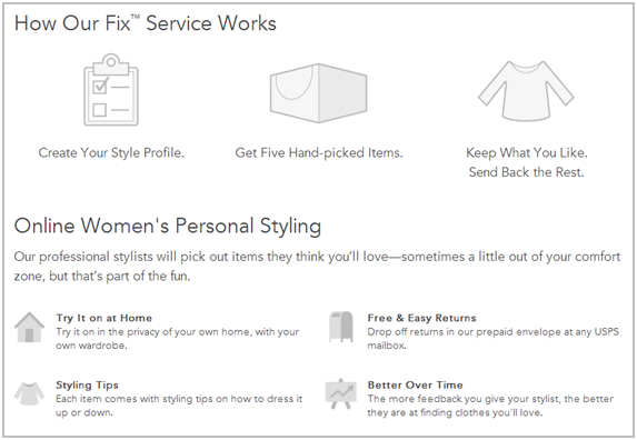 Stitch Fix Features