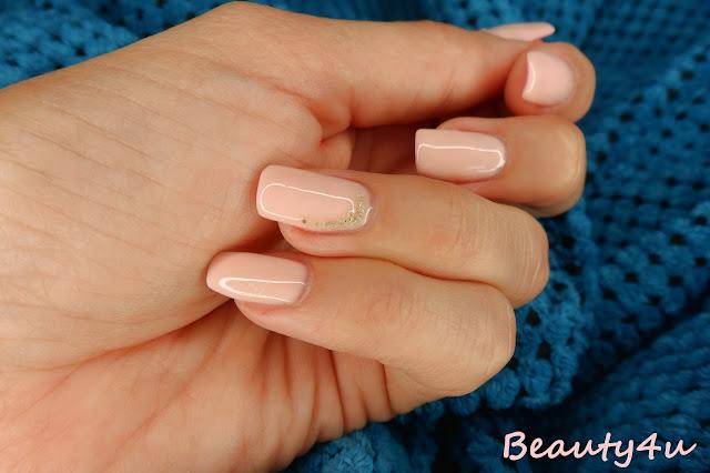 Kryształ powietrza - nails