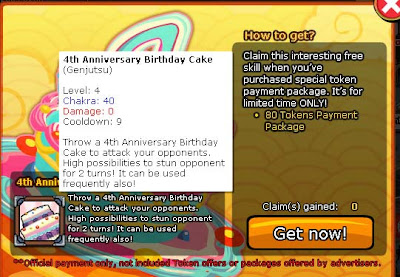 Cheat Afrix 4Th Anniversary Ninja Saga 2013