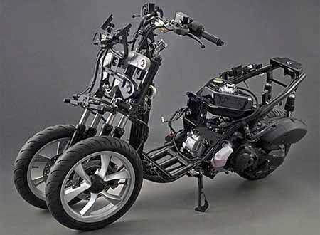 Sasis Yamaha Tricity