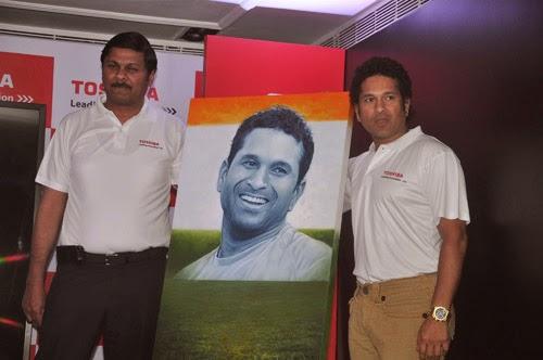 Sachin Tendulkar Launch Largest Digital Photo Mosaic Event Photos