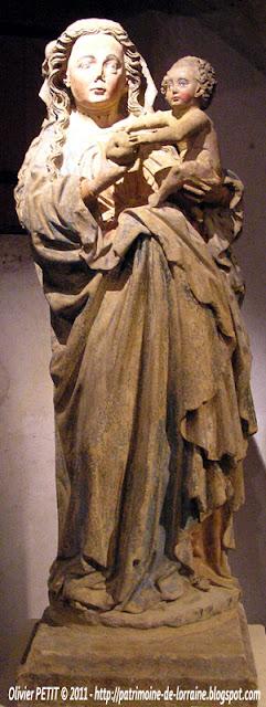 Vierge à l'Enfant. Vers 1450.