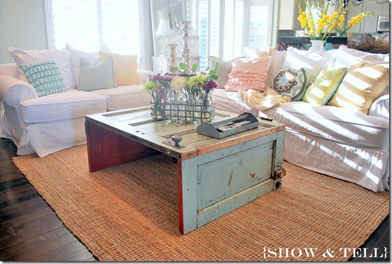This Clever Door Coffee Table Came From Www.killerbdesigns.com