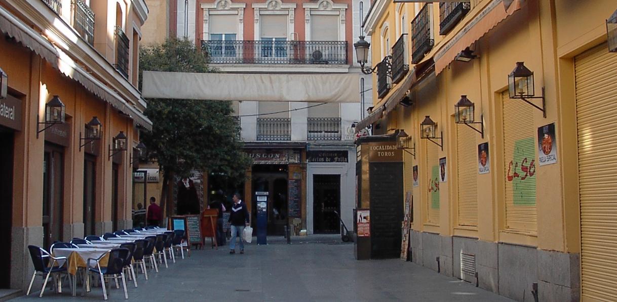 calle victoria madrid: