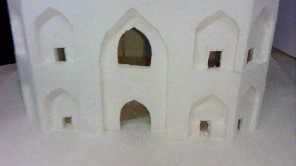 Homemade Model of Taj Mahal picture, images, photos