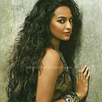 Hot sonakshi in magazine