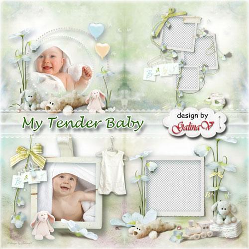 Bebekler için Fotoğraf Kitap Kız & Erkek