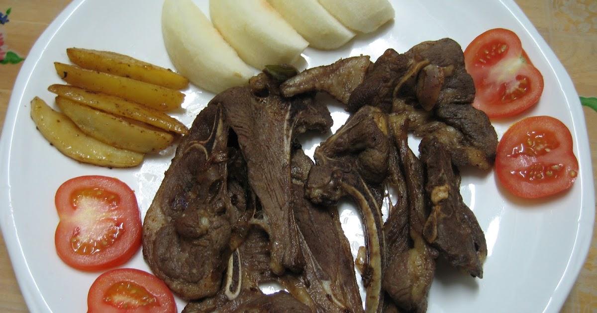 Sumptuous Flavours: Curry Leaves Lamb Chop 咖哩叶羊扒