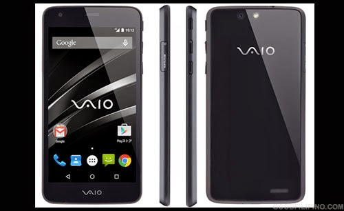 VAIO unveiled first Android Smartphone