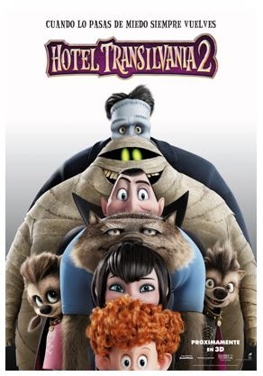 Poster Hotel Transilvania 2