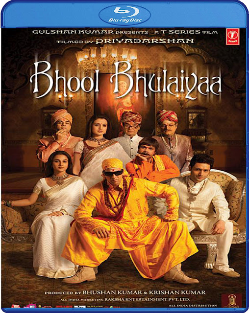 Bhool Bhulaiyaa 2007 Hindi BRRip 720p 1.2GB MKV