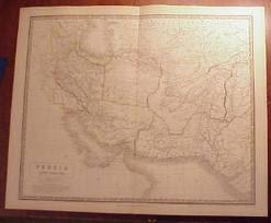 نقشه مستقل بلوچستان در سال 1843 م
