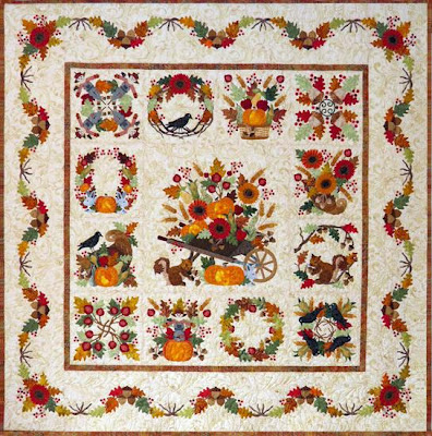 Autumn Quilt by P3 Designs Pearl Pereira