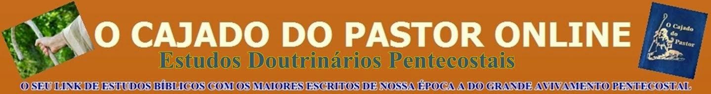 *******  O CAJADO DO PASTOR ESTUDOS  *******