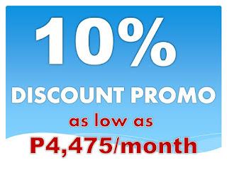 10% DISCOUNT PROMO