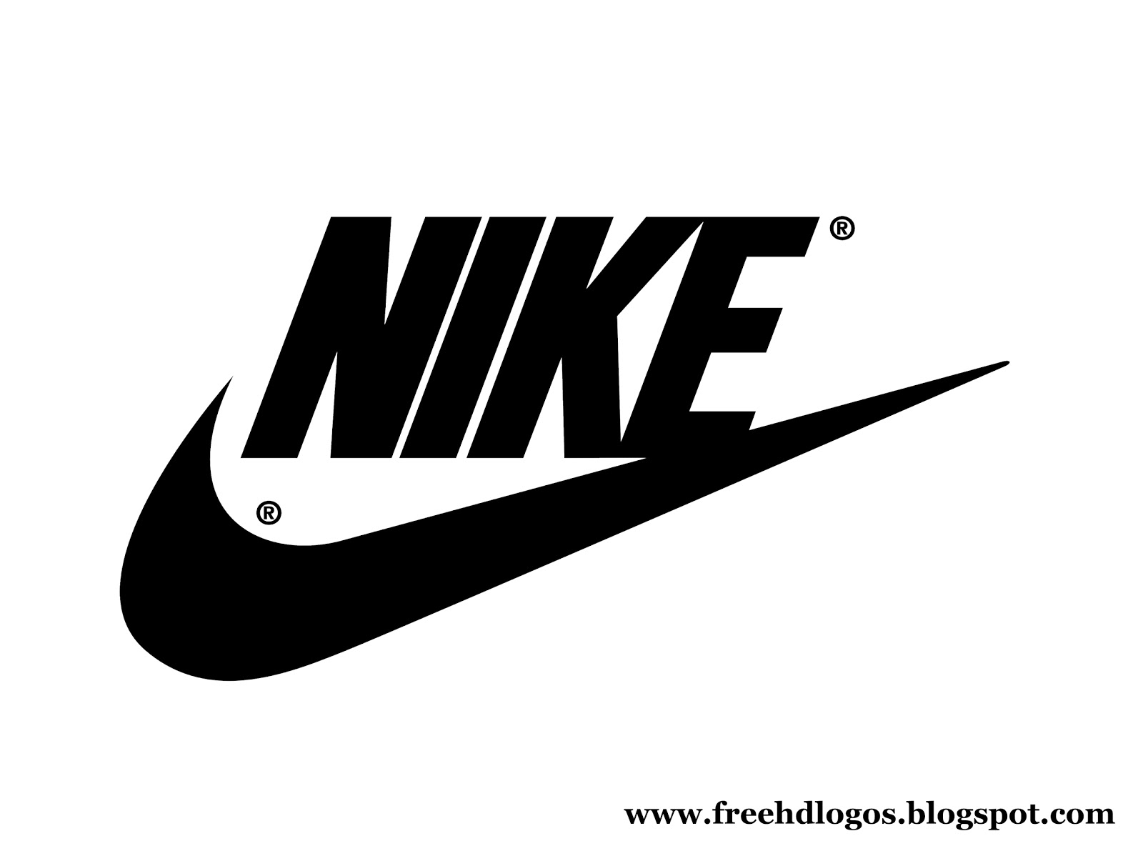 Nike logo lite with Nike name free HD