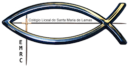 Logotipo EMRC do Colégio de Lamas!